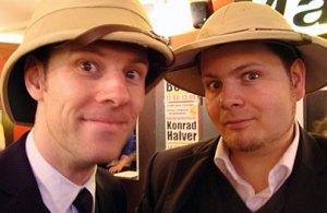 Timo und Lars auf der Hoerspiel 2010