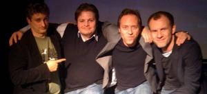 Die Vier bei der Premiere der neuen Staffel